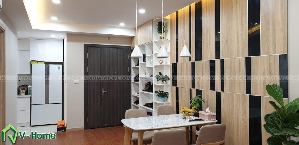 Phong-khach-can-ho-mon-city-3-1024x498 Thi công nội thất căn hộ chung cư Mon City - Chị Vân