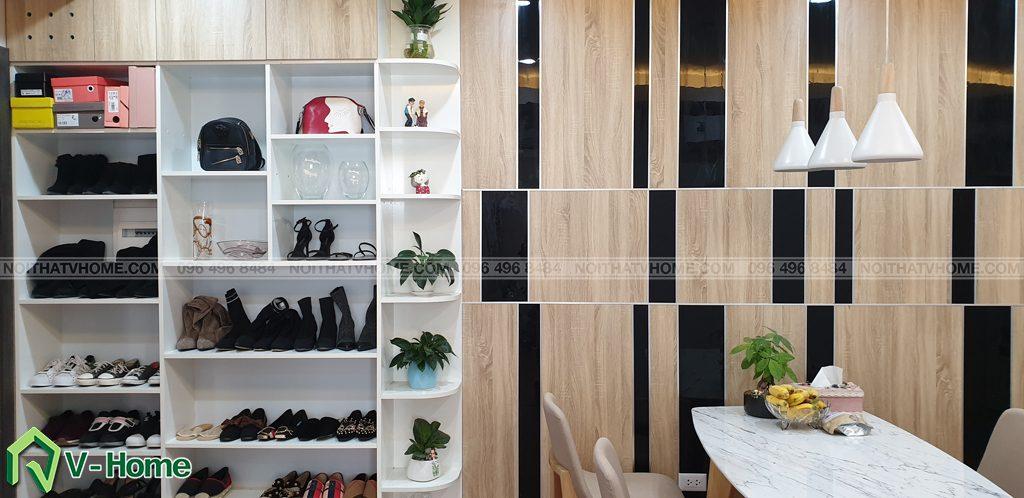 Phong-khach-can-ho-mon-city-5-1024x498 Thi công nội thất căn hộ chung cư Mon City - Chị Vân