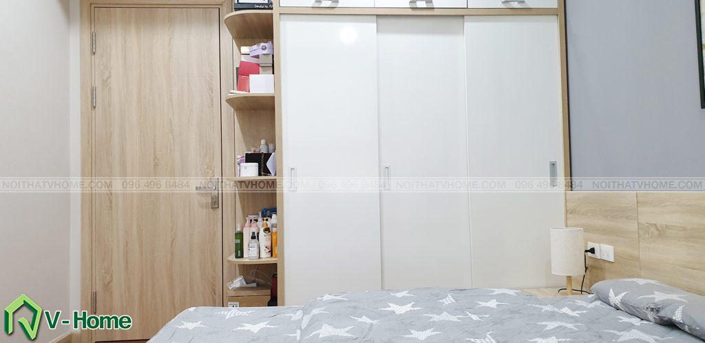 khong-gian-phong-ngu-master-3-1024x498 Thi công nội thất căn hộ chung cư Mon City - Chị Vân