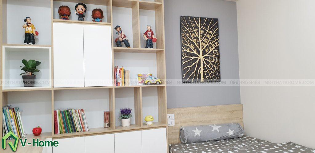 phong-ngu-tre-em-4-1024x498 Thi công nội thất căn hộ chung cư Mon City - Chị Vân