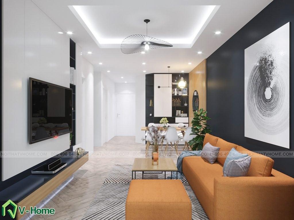 thiet-ke-noi-that-phong-khach-chung-cu-moncity-mshuyen-5-1024x768 Thiết kế nội thất căn hộ chung cư Mon City - Ms Huyền