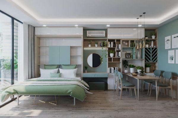 thiết kế nội thấtOfficetel D' El Dorado