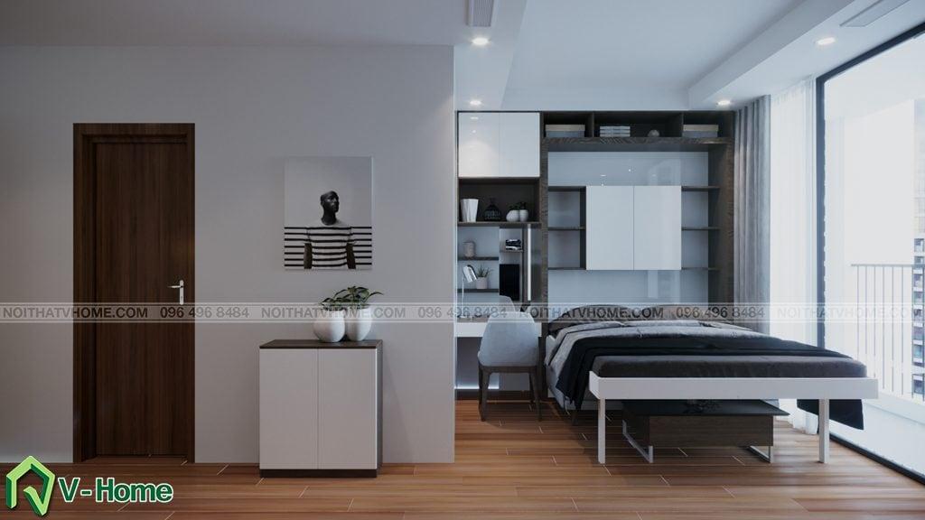 thiet-ke-chung-cu-Green-Bay-a-Linh-10-1024x576 Thiết kế nội thất căn hộ chung cư Green Bay, Mễ Trì - Mr.Mạnh