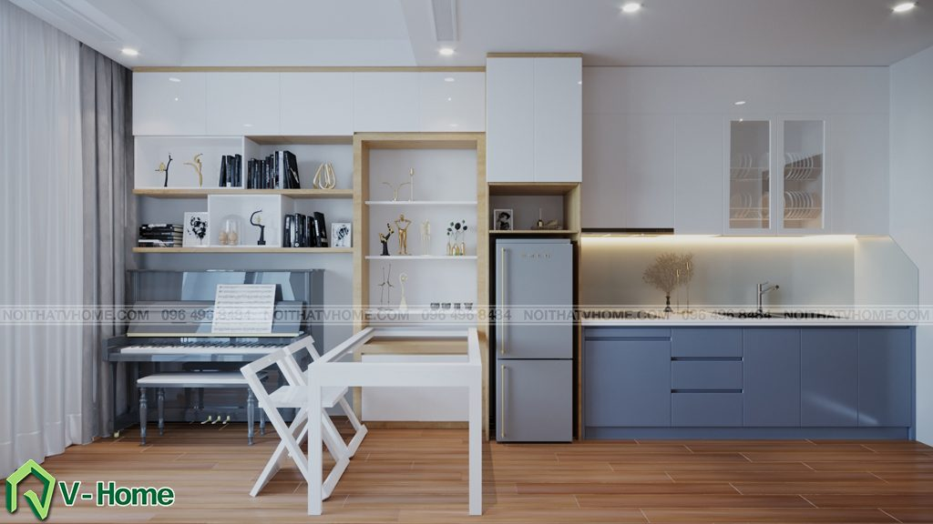 thiet-ke-chung-cu-Green-Bay-a-Linh-2-1024x576 Thiết kế nội thất căn hộ chung cư Green Bay, Mễ Trì - Mr.Mạnh