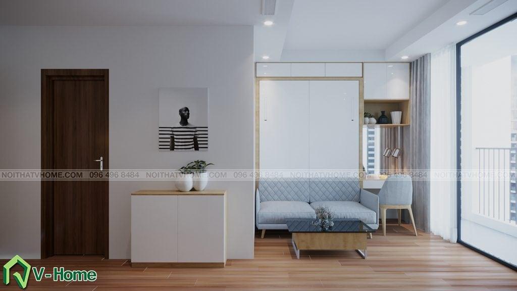 thiet-ke-chung-cu-Green-Bay-a-Linh-3-1024x576 Thiết kế nội thất căn hộ chung cư Green Bay, Mễ Trì - Mr.Mạnh