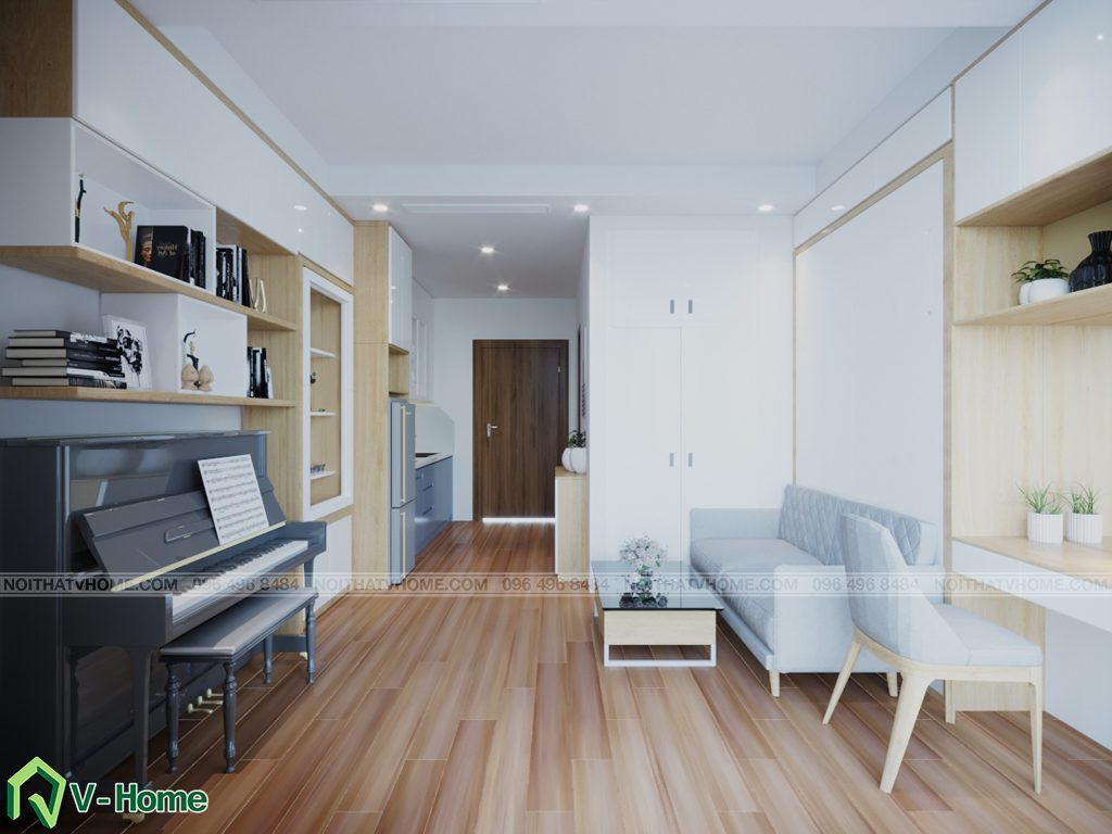thiet-ke-chung-cu-Green-Bay-a-Linh-5-1024x768 Thiết kế nội thất căn hộ chung cư Green Bay, Mễ Trì - Mr.Mạnh