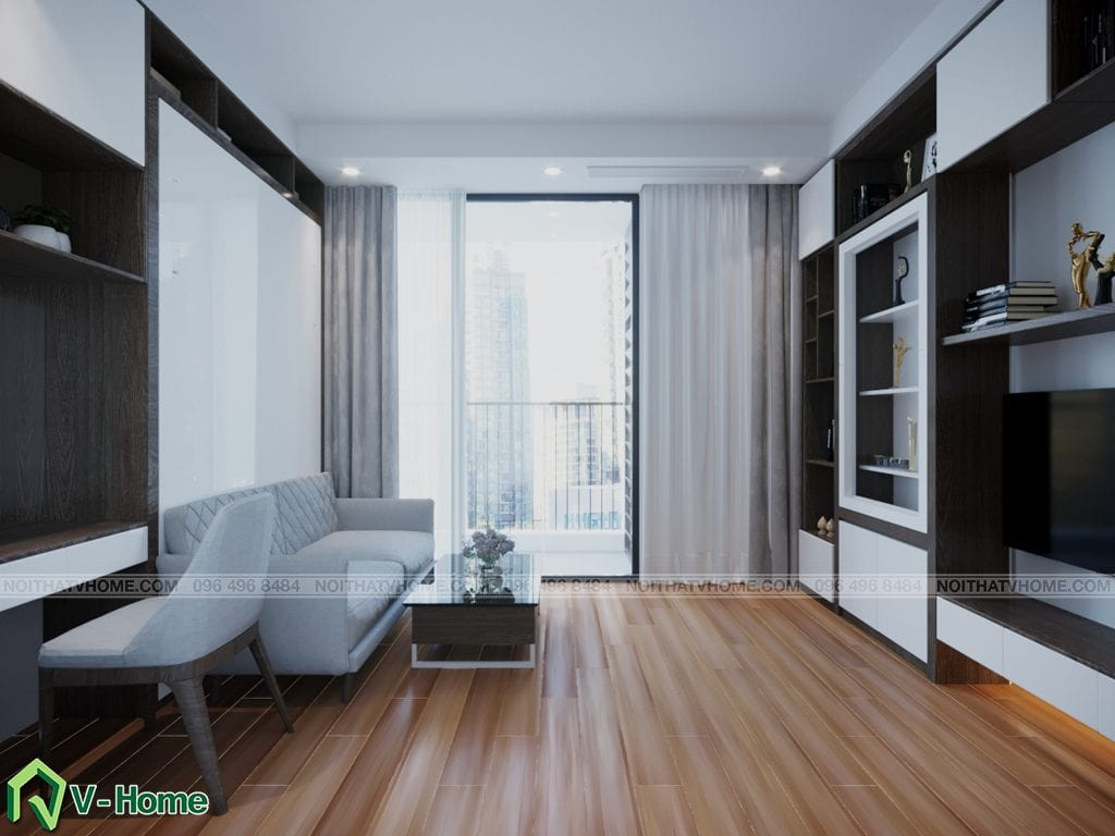 thiet-ke-chung-cu-Green-Bay-a-Linh-6-1024x768 Thiết kế nội thất căn hộ chung cư Green Bay, Mễ Trì - Mr.Mạnh