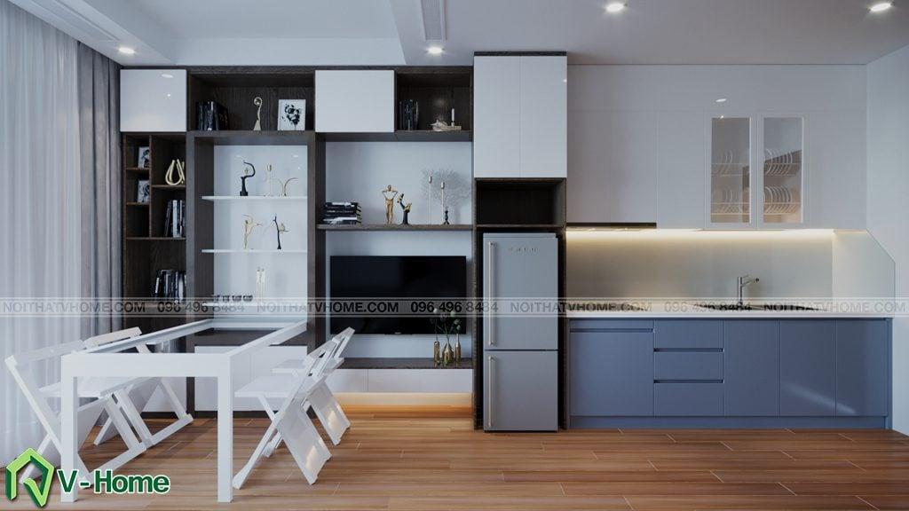 thiet-ke-chung-cu-Green-Bay-a-Linh-8-1024x576 Thiết kế nội thất căn hộ chung cư Green Bay, Mễ Trì - Mr.Mạnh