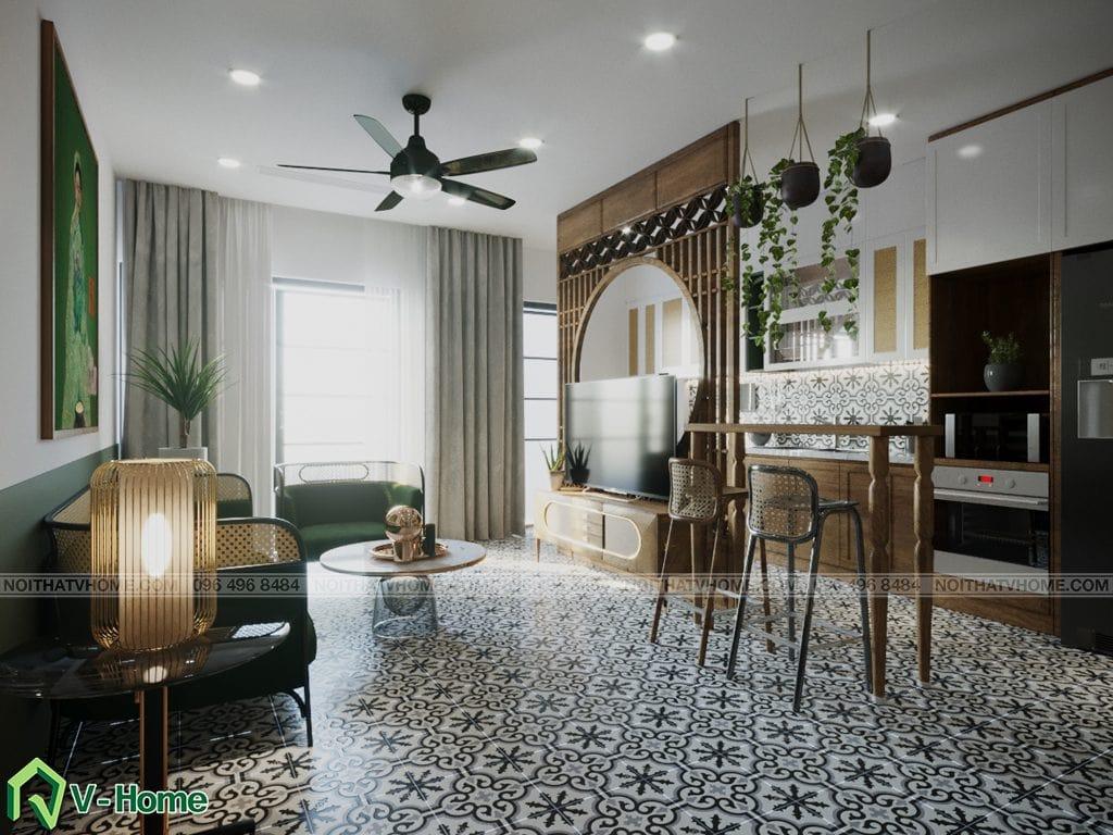 thiet-ke-noi-that-chung-cu-Kosmo-tay-ho-1-1024x768 Thiết kế nội thất căn hộ chung cư Kosmo - Tây Hồ