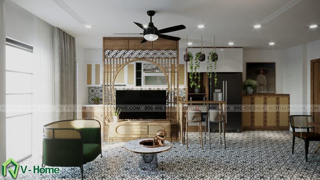 thiet-ke-noi-that-chung-cu-Kosmo-tay-ho-5-1024x576 Thiết kế nội thất căn hộ chung cư Kosmo - Tây Hồ