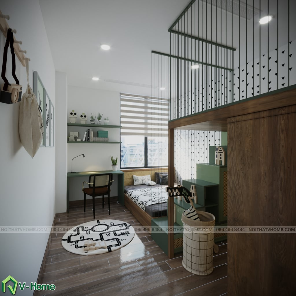 thiet-ke-noi-that-chung-cu-Kosmo-tay-ho-7 Thiết kế nội thất căn hộ chung cư Kosmo - Tây Hồ