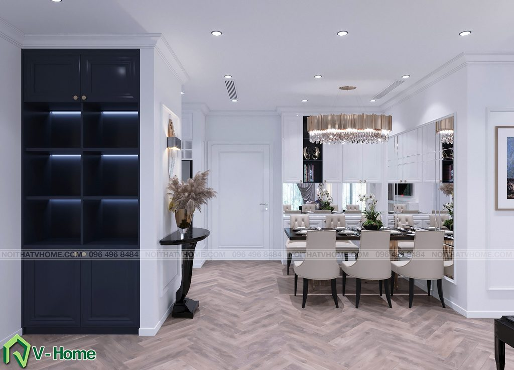 thiet-ke-noi-that-chung-cu-g2-green-bay-1-1024x736 Thiết kế nội thất chung cư Green Bay, Mễ Trì - Mr. Vinh