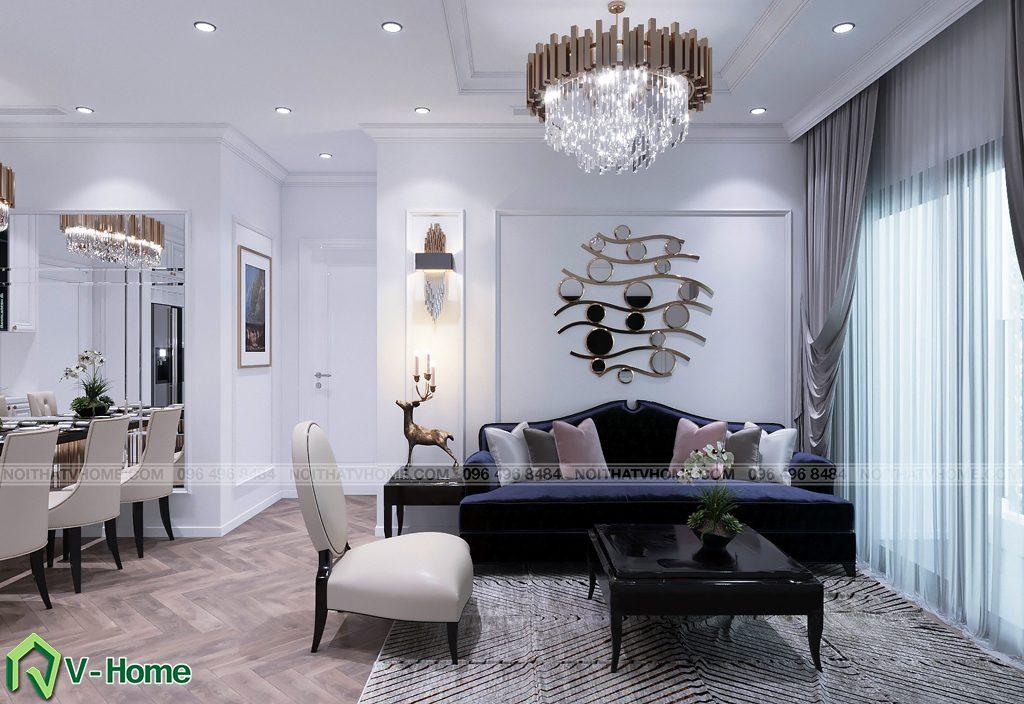 thiet-ke-noi-that-chung-cu-g2-green-bay-2-1024x704 Thiết kế nội thất chung cư Green Bay, Mễ Trì - Mr. Vinh