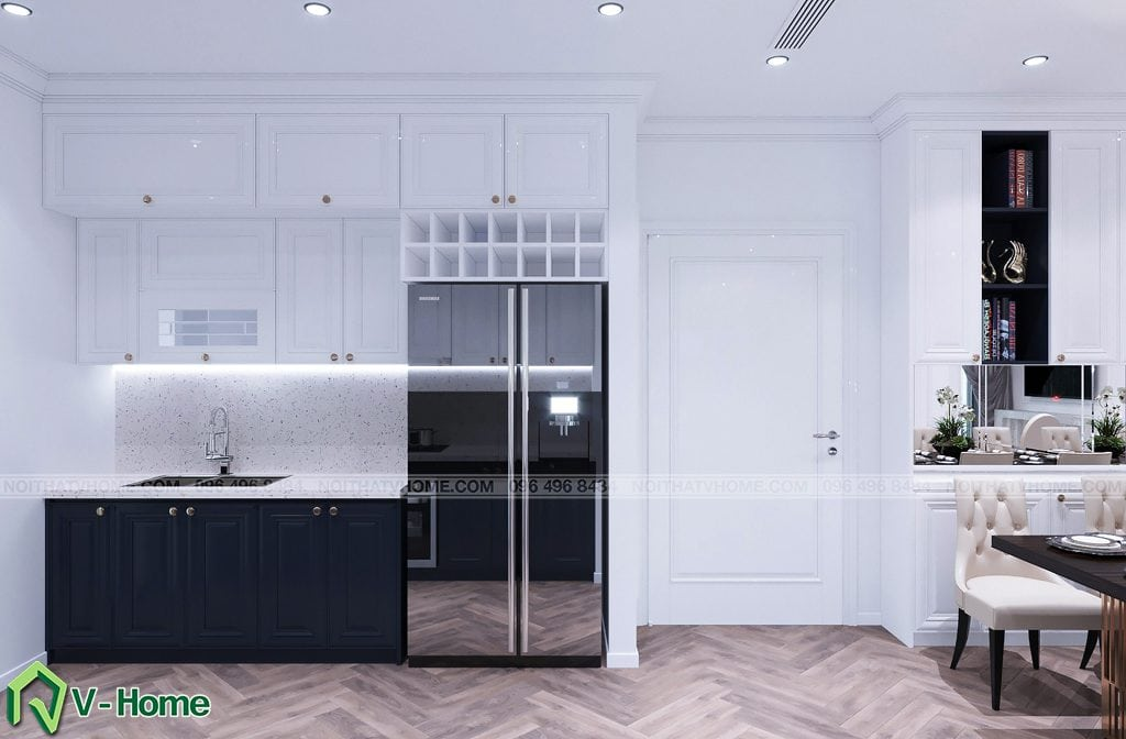 thiet-ke-noi-that-chung-cu-g2-green-bay-4-1024x672 Thiết kế nội thất chung cư Green Bay, Mễ Trì - Mr. Vinh